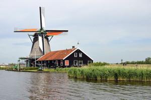 Amsterdam Zaanse Schans Windmühlen