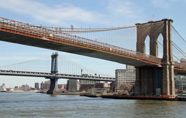 usa new york manhattan bridge